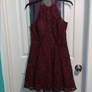 Formal dress worn once